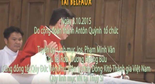 Vidéo Lễ Các Thánh Tử Đạo Việt Nam 2015