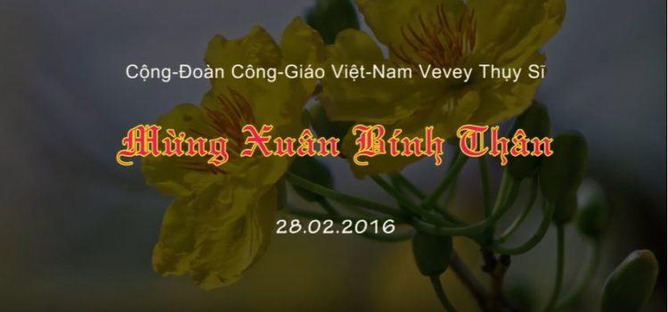 Vidéo Tết Bính Thân 2016 Vevey